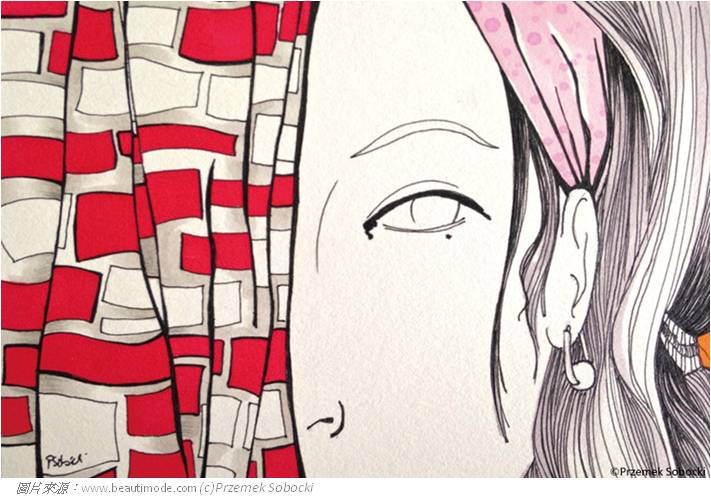 103-0828-戀上星座萬花筒,新光三越X波蘭時尚插畫家Przemek Sobocki-07