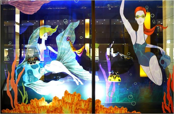 103-0828-戀上星座萬花筒,新光三越X波蘭時尚插畫家Przemek Sobocki-32