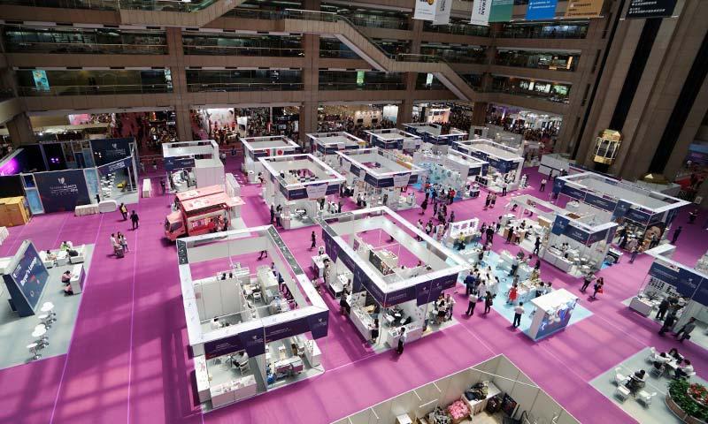 台灣國際美容展攤位設計-(2)