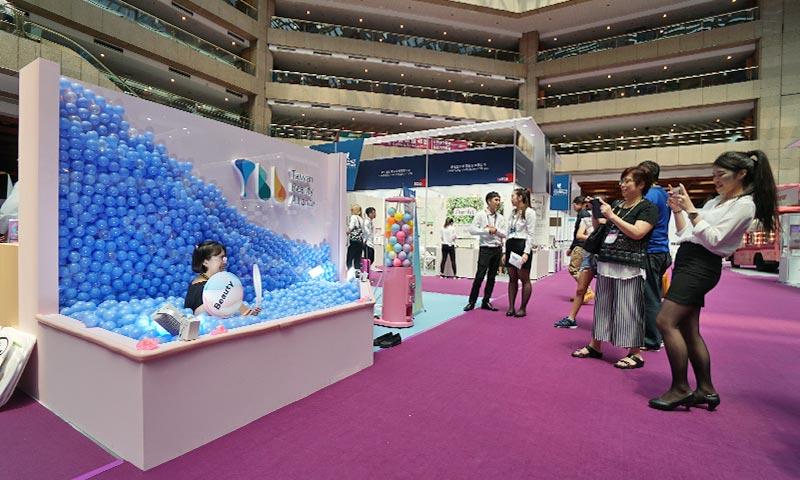 台灣國際美容展攤位設計-(4)