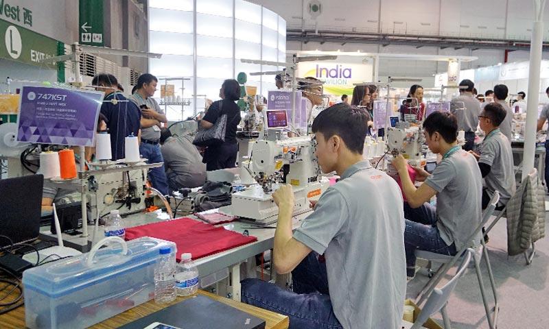 台北紡織展攤位設計 (15)