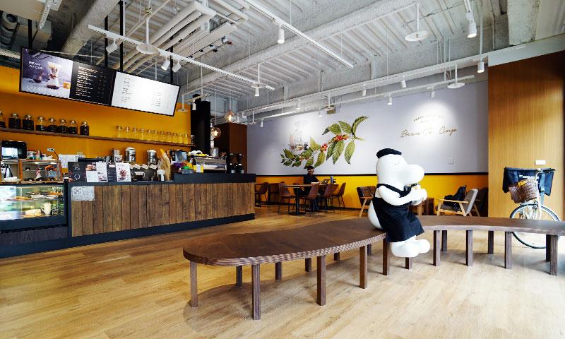咖啡店店面設計-歐也空間設計
