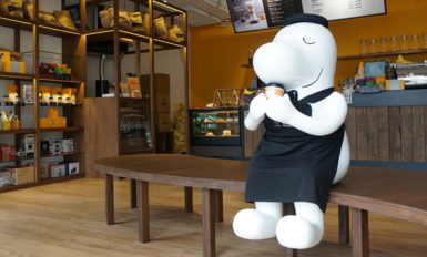 咖啡店店面設計-歐也空間設計 (1)