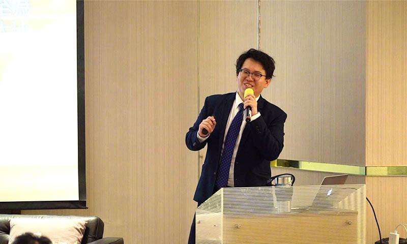 仁寶電腦工業股份有限公司 智慧型裝置事業群 營銷策略發展室 杜俊賢經理