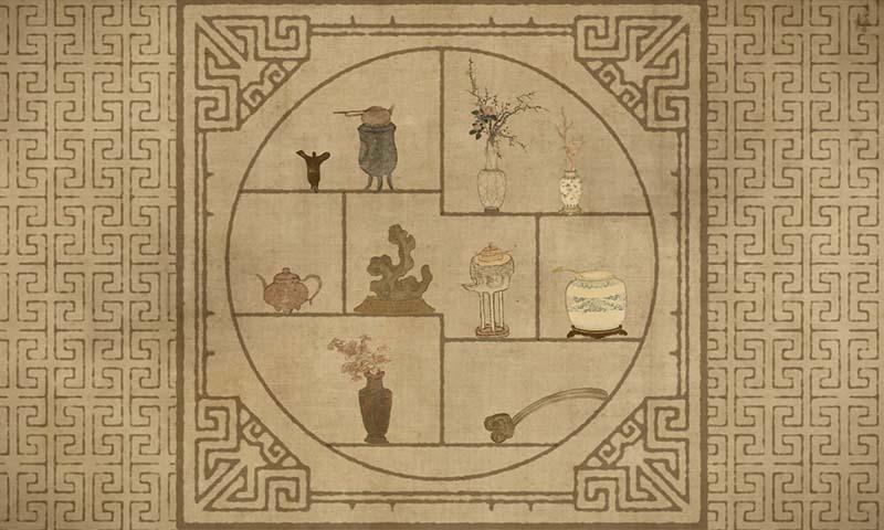 東方文化 、 古畫 、 文物