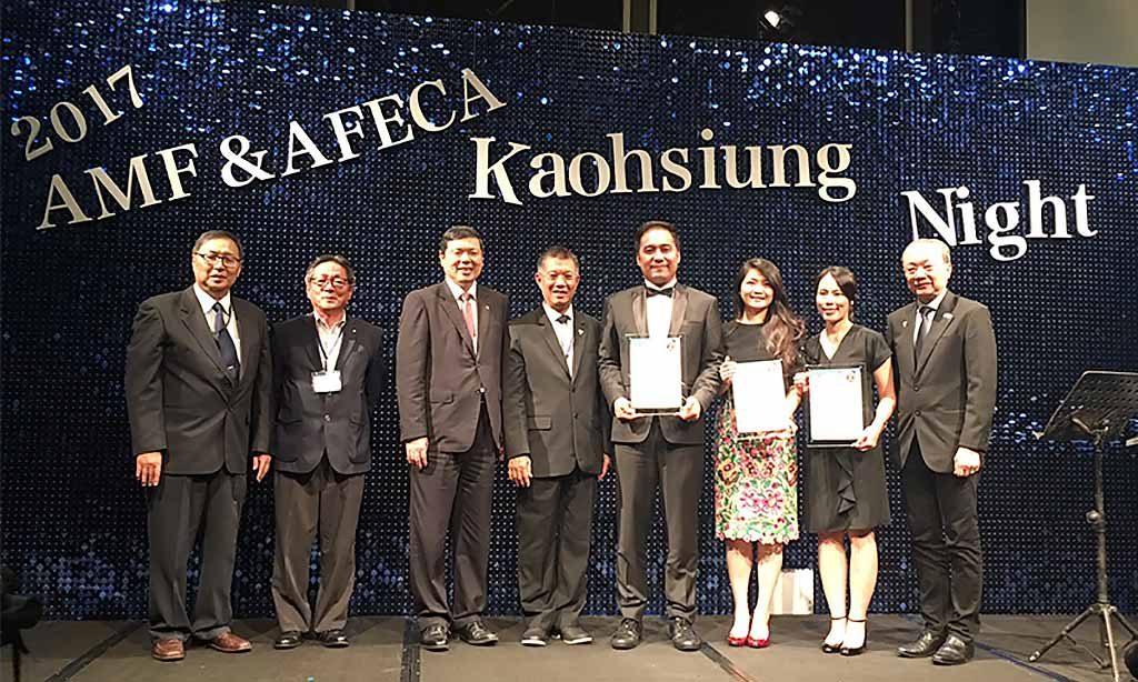 歐立利榮獲亞洲展覽會議協會聯盟(AFECA)傑出青年人才獎
