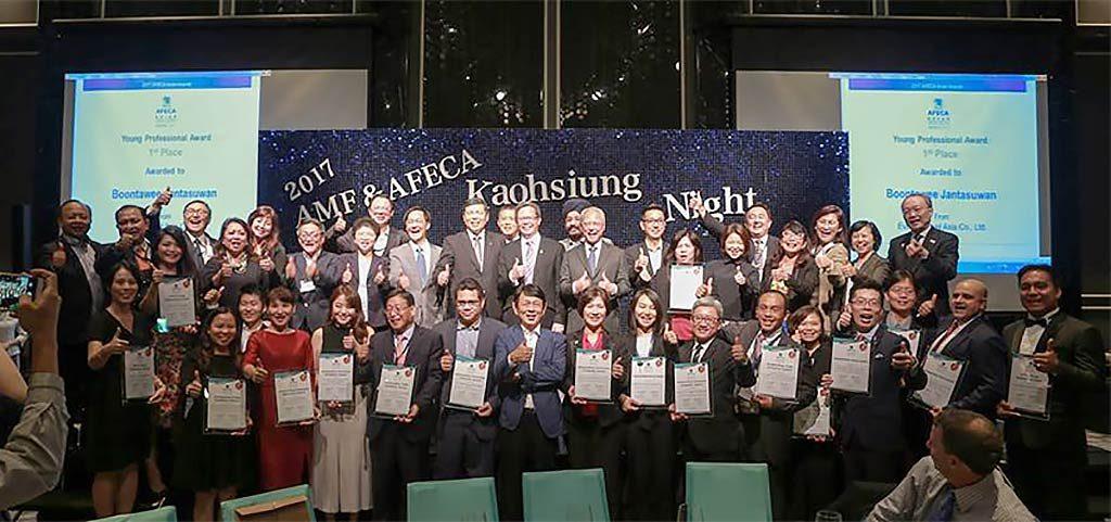 歐立利國際展覽設計集團榮獲亞洲展覽會議協會聯盟(AFECA)傑出青年人才獎