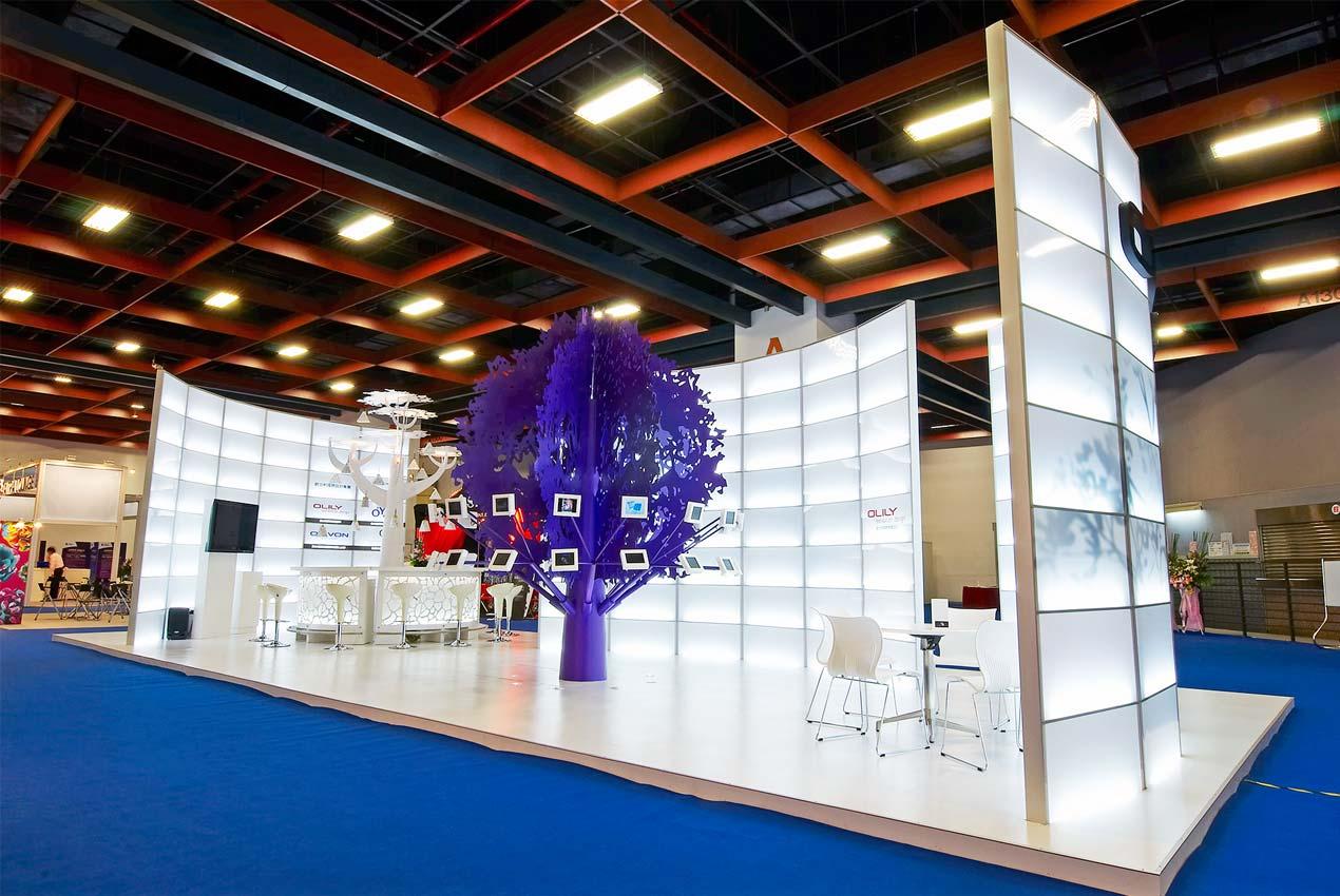 展覽設計 ─ 歐立利展覽設計公司使用環保組合材設計完美品牌形象