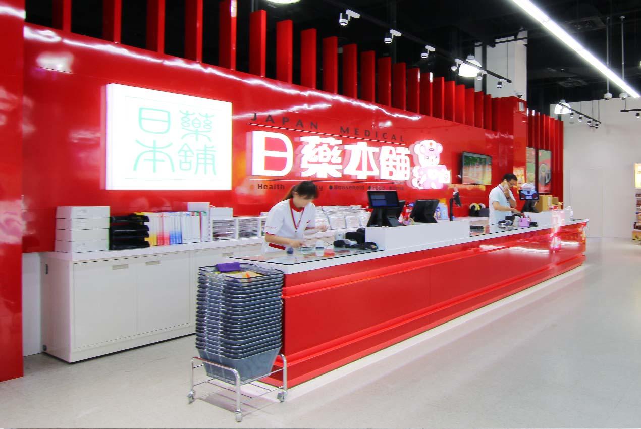店面設計 切割空間線條,增加空間設計的穿透性及活潑感 ─ 歐立利商業空間設計