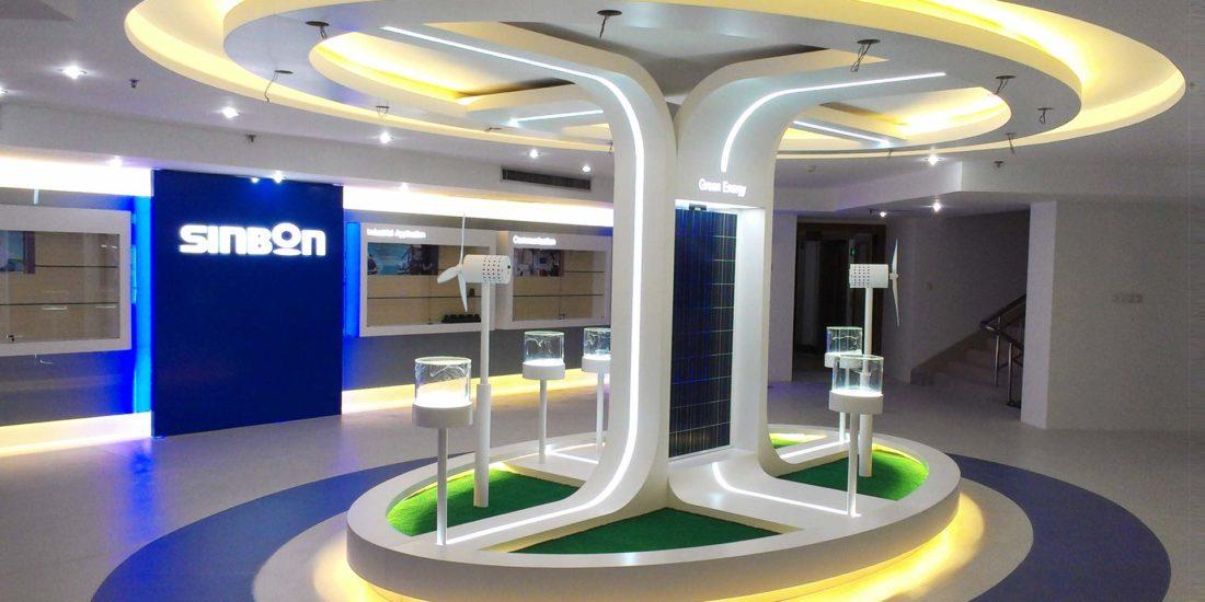 商業空間設計, 科技風格店面設計 ─ 歐立利店面設計