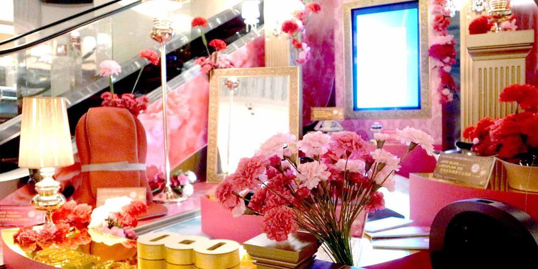 商業空間設計 台北101母親節裝置藝術活動企劃