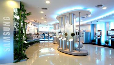 Samsung 店面設計 - 歐也空間 商也空間設計