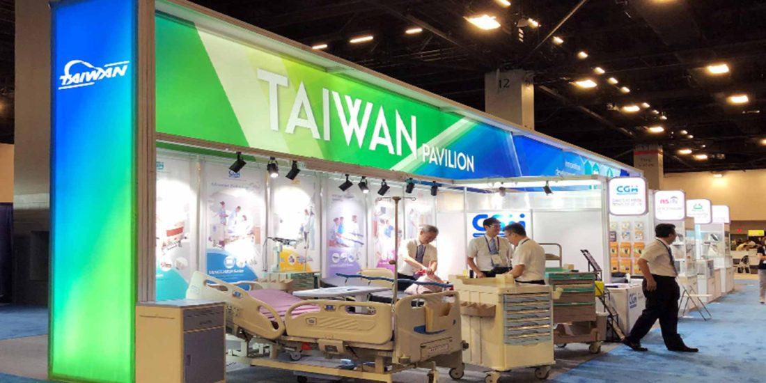 美國FIME台灣形象館, 展覽設計大面積使用燈箱結合間接燈光運用, 展覽設計 推薦歐立利