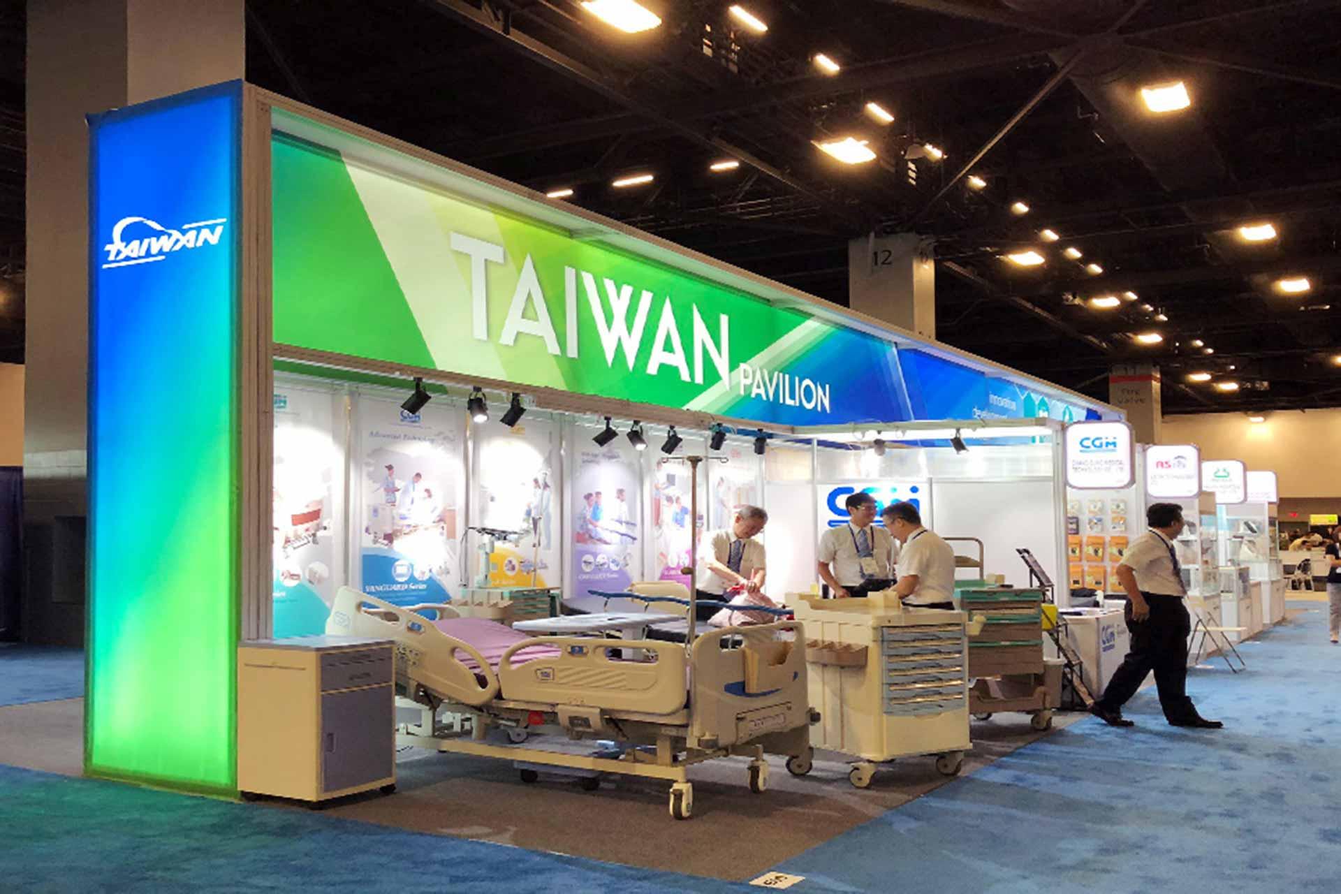展覽設計 美國FIME台灣形象館, 展覽設計推薦歐立利