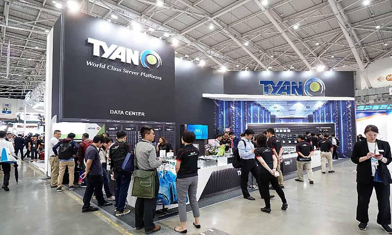 台北國際電腦展COMPUTEX 展覽設計, 整體俐落中帶有未來感
